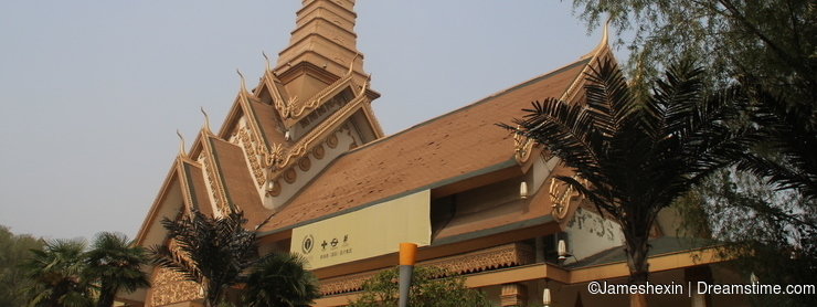 building , Oriental architecture , Thai, The overall architecture , Wood Sculpture , Thai style , Majestic Royal Courtyard