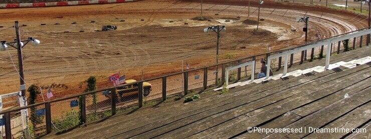 Dirt Race Track