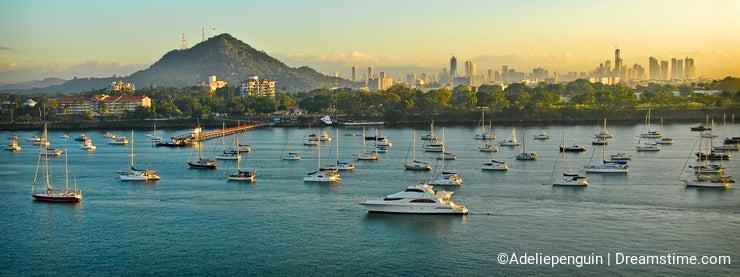 Sunrise, Panama City, Panama