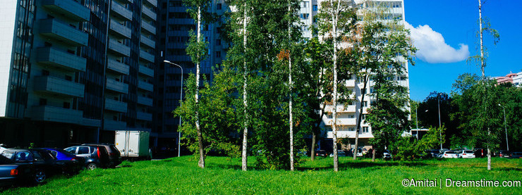 Russian Motherland - Moscow Residential buildings