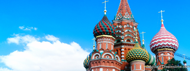 Russian Motherland - St. Basil Cathedral 1