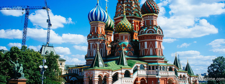 Russian Motherland -St. Basil Cathedral 2