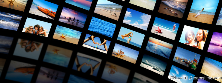 Modern TV screens panel