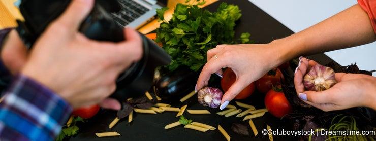 Food photography photo studio teamwork art blog