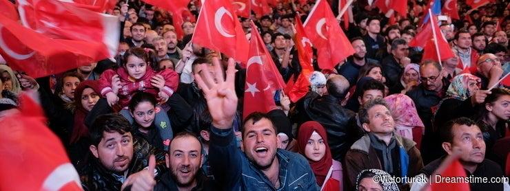 Referendum Turkey Celebration