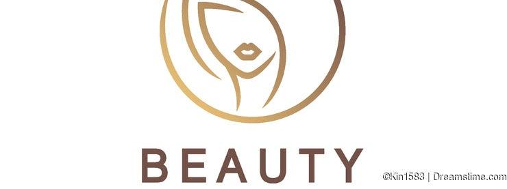 Vector logo design for beauty salon, hair salon, cosmetic