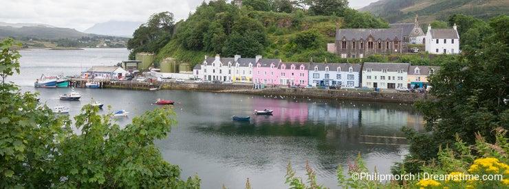 Portree harbour, Isle of Skye, Scotland