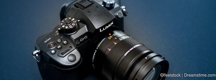 New Panasonic Lumix GH5 and Leica 12-60 camera lens