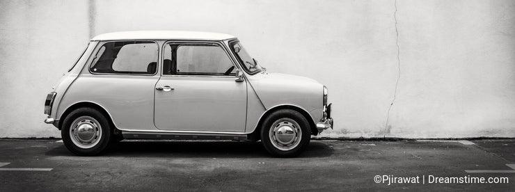 Classic mini car