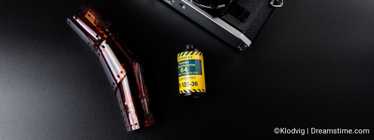 Canon film camera with Kodak slide film