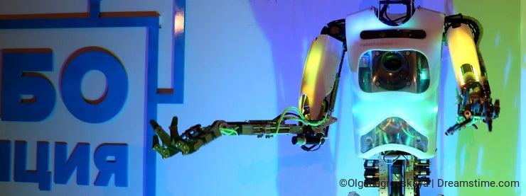 Robot that can sing dance talk