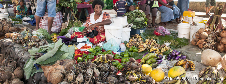 Tropical Market, Fiji