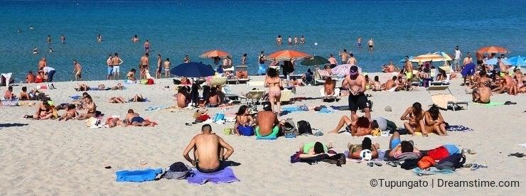 Salento beach tourism