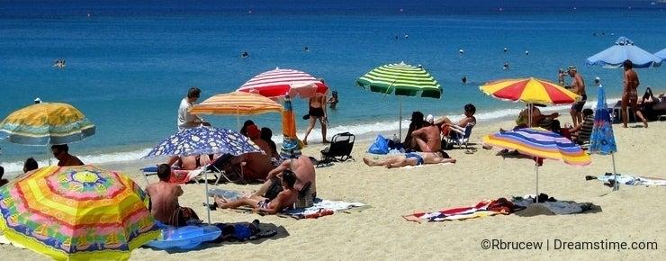 Agios Prokopios Beach, Naxos Greek Island