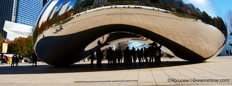 The Chicago Bean, USA