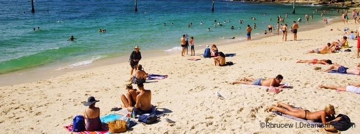 Shark Beach, Nielsen Park, Vaucluse, Sydney, Australia