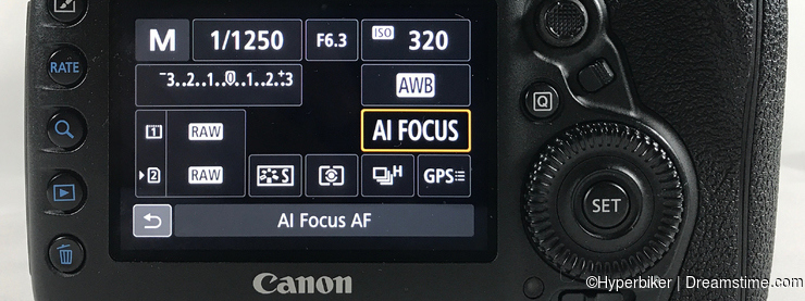 Selecting AF Operations - AI Focus