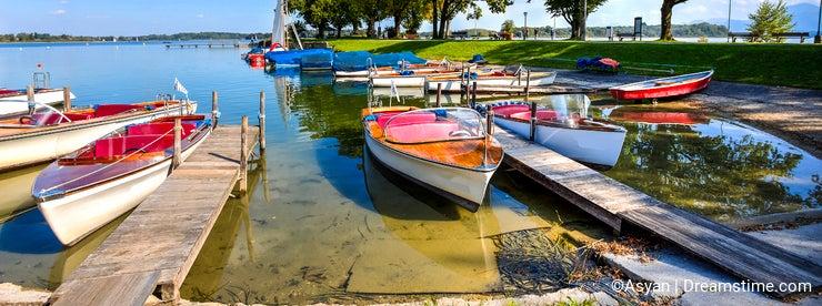 Chiemsee Lake, Bavaria, Germany