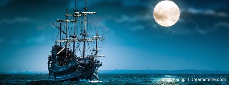 Flying Dutchman pirate ship