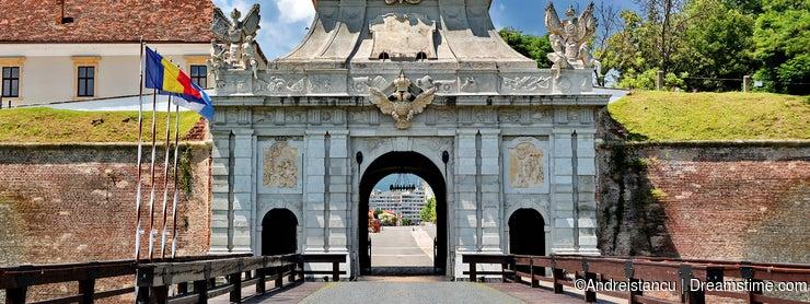 Alba Iulia Fortress, Romania