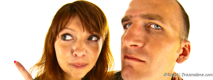 Distorted couple
