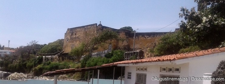 Fort Jesus,Mombasa Kenya, Historical ancient building constructed in 1593 by the Portuguese