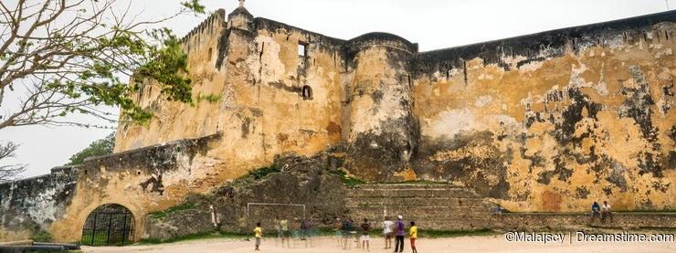 Fort Jesus Museum in Mombasa, Kenya