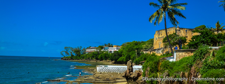 Kenya Mombasa Beach & Fort Jesus