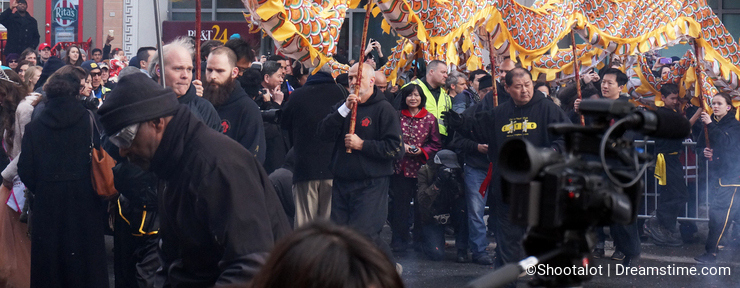 Chinese Dragon at the Festival