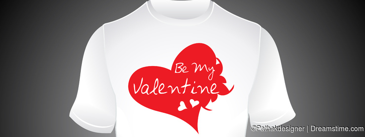 Abstract be my valentine tshirt