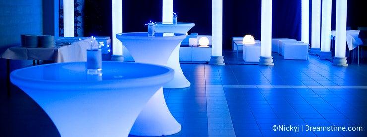 Wedding party venue