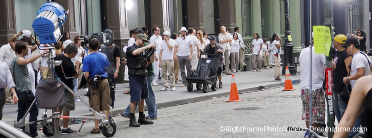 Making movies in NYC