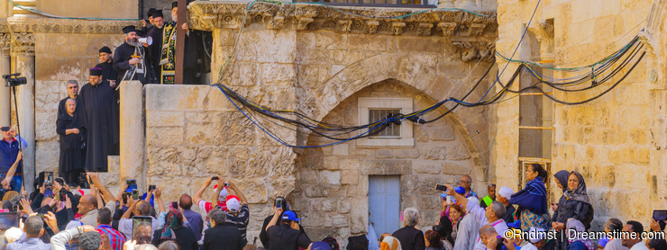 Orthodox Good Friday 2016 in Jerusalem