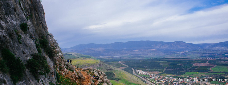 Holy land Series -Mt. Arbel Cliff