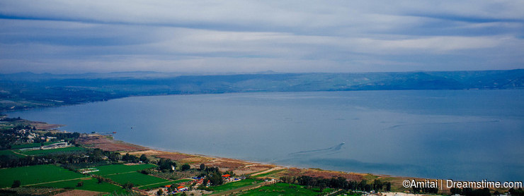Holy land Series -Mt. Arbel and the Sea of Galilee
