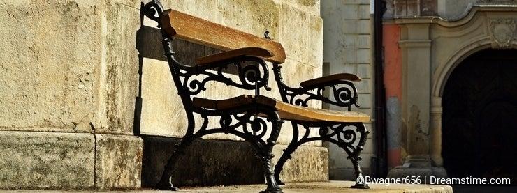 Bench in Sopron