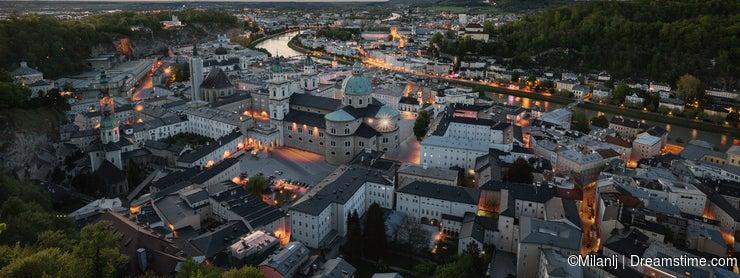 Old Salzburg at Dusk