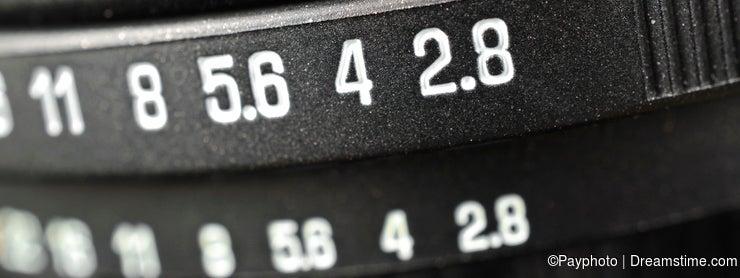 Macro of aperture scale