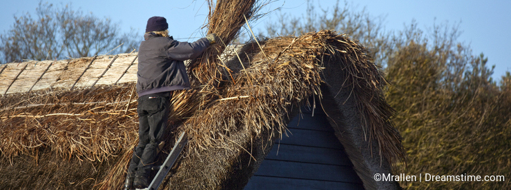 Thatching - Thatched Roof - England