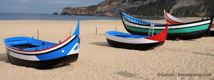 Nazare boats