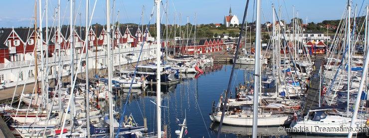 Picturesque harbour, Bagenkop, Langeland, Denmark