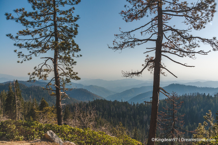 California Greatest Spots: Sequoia and King's Canyon (Generals Highway, Giant Sequoia National Monument, USA)