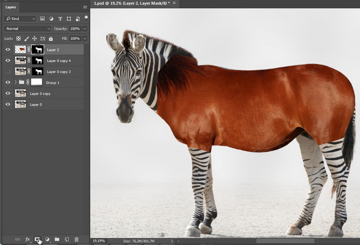 Skill up the experience of retouching and masking in Photoshop