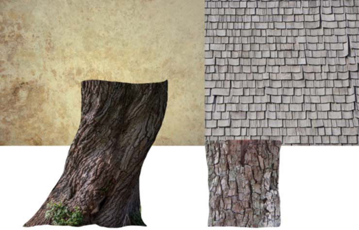 Photoshop Tutorial: Whimsical Wonders - Step 2 - Textures