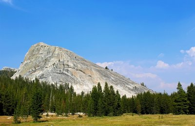 Beautiful Tuolumne Meadows of Yosemite