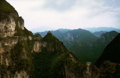 Longgang National Geopark, Yunyang, Chongqing, China