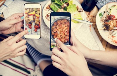 Tip of the week: How to make your food camera friendly