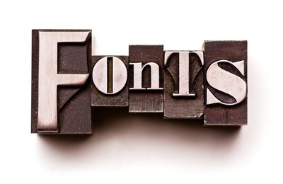 Tips for Picking Fonts that Compliment Your Message not Distract From it