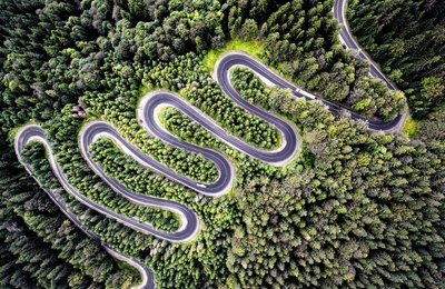 Drone your road