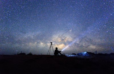 How to take photographs of the night sky
